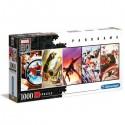 Puzzle 1000 piezas Panorama Marvel 80 years / Puzle 1000 pezas Panorama Marvel 80 years