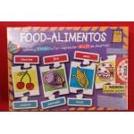 Juego Educa Bilingüe Food - Alimentos / Xogo Educa Bilingüe Food - Alimentos