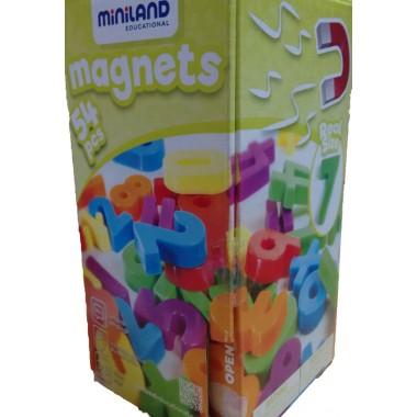 Números Magnéticos 54 piezas