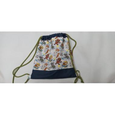 Bolsa de merenda tipo mochila
