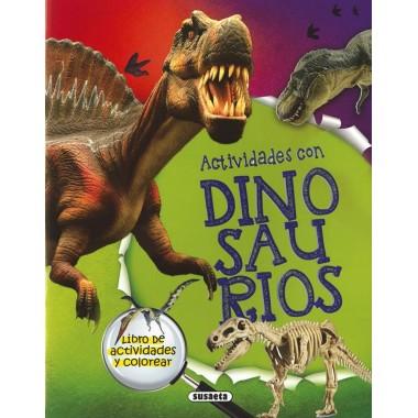 Actividades con Dinosaurios. Susaeta.