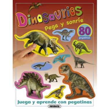 Dinosaurios. Pega y Sonríe. Susaeta.