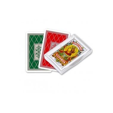 Baraja Española VITORIA 40 cartas Fournier en caja plástico / Baralla Española VITORIA 40 cartas en caixa plástico