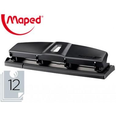 Perforadora 4 agujeros MAPED metal