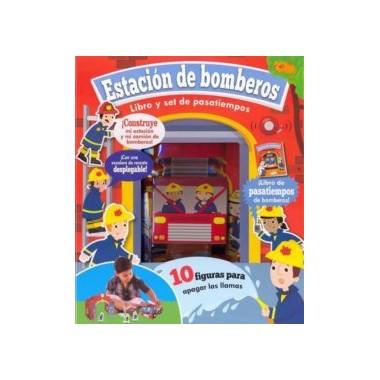 Estación de Bomberos. Libro y Set de Pasatiempos. Parragón.