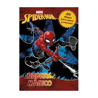 Cuaderno Mágico Spider-man Marvel