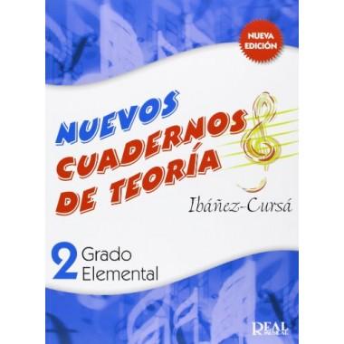 Nuevos Cuadernos de Teoría 2. Grado Elemental. Ibáñez-Cursá. Real Musical.