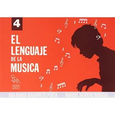 El Lenguaje de la Música 4. Ana María Navarrete Porta y Manuel Moreno Buendía. Sociedad Didáctico Musical.