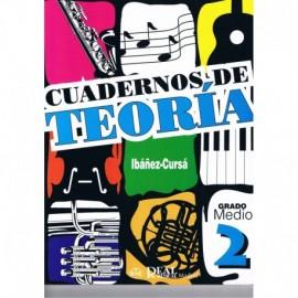Cuadernos de Teoría 2 Grado Medio. Ibáñez-Cursá. Real Musical