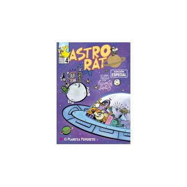 Astro - Rato e Lampadiña. O Planeta Peperete. Comic. Fermín Solís. El Patito Editorial