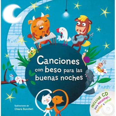 Canciones con Beso para las Buenas Noches (incluye CD). Beascoa