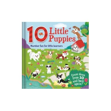 10 Little Puppies. Number fun for little learners. Igloobooks
