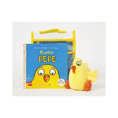 El pollo Pepe + Muñeco. Editorial SM