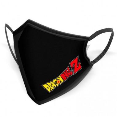 Mascarilla reutilizable higiénica logo Dragon Ball 10-12 años