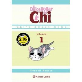 El dulce hogar de Chi (volumen 1). Konami Kanata. Planeta Cómic.