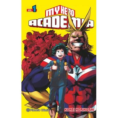 My Hero Academia ( Vol. 1 ). Kohei Horikoshi. Planeta Cómic.