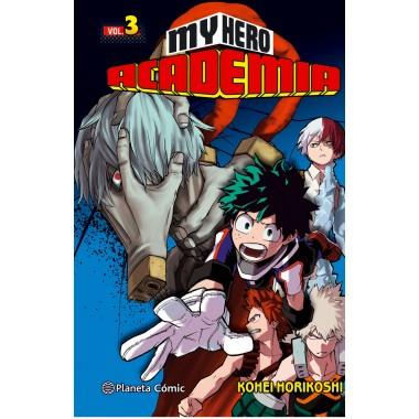 My Hero Academia ( Vol. 3 ). Kohei Horikoshi. Planeta Cómic.