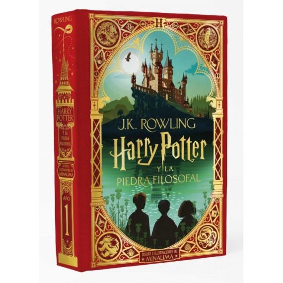 Harry Potter y la Piedra Filosofal (Ed. Minalima). J. K. Rowling. Salamandra