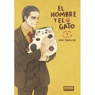 El Hombre y el Gato 1. Umi Sakurai. Norma Editorial. Comic Manga.