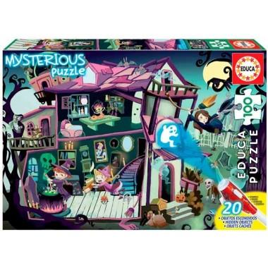 Puzzle Educa Mysterious 100 piezas 40x28 cm