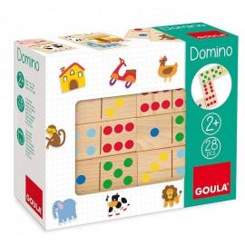 Domino Madera GOULA 28 piezas.