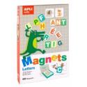 Juego de Letras Magnéticas APLI kids.