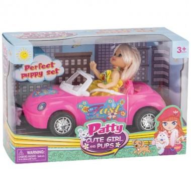 Mi muñeca Patty con coche 13 cm.