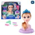 Cabeza Maniquí con accesorios Pretty Princess