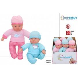 Bebé Blandito 28 cm. rosa o azul.