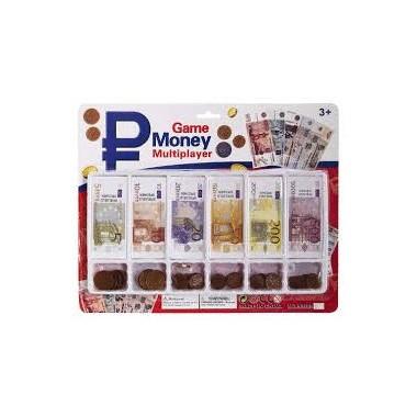 Set de moedas e billetes de Euro / Set de monedas y billetes Euro.