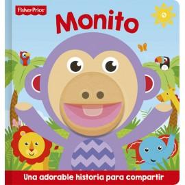 Libro Marioneta Monito. Fisher-Price.